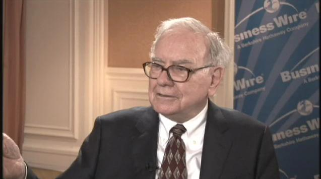 Business Wire Interviews Warren Buffett