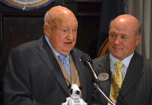 Chick-fil-A Founder Truett Cathy Speaks at National Press Club