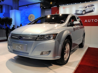 BYD Set to Launch All-Electric Car in Los Angeles Next Year