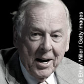 T. Boone Pickens: Switch 18-Wheeler Fleet to Natural Gas