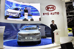 BYD Showcases Electric Car But Hedges on Price and Timing