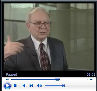 Buffett on Berkshire's Valuation:  It's at the Low End