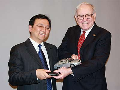 Berkshire's Investment in BYD:  A Bet on Wang Chuan-Fu