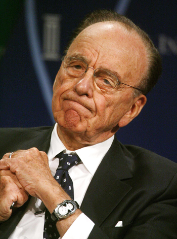 Rupert Murdoch on Business Models for Online News