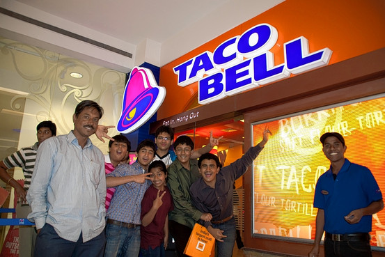 Taco Bell Expands to India:  Paneer and Potato Tacos?