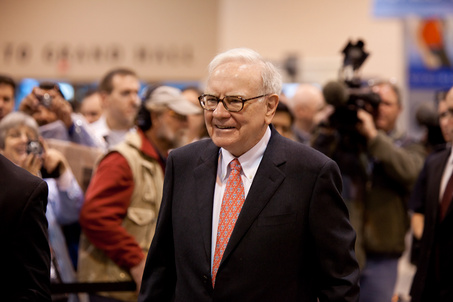 Buffett Observes Big Upswing in Business Starting in March