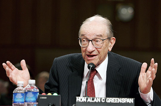 "Greenspan:  Those Who Predicted Housing Bubble are ""Statistical Illusions"""