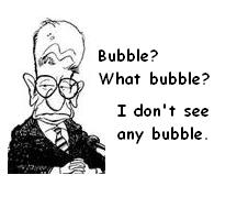 Roger Lowenstein:  The Fed Should Burst Our Bubbles