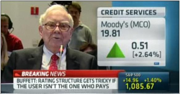 Was Buffett Too Easy on Moody's in FCIC Testimony?
