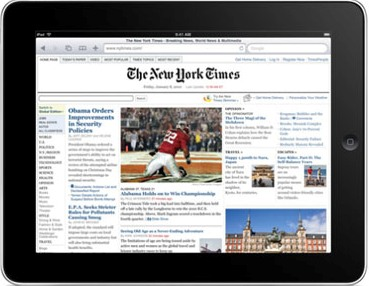 Newspapers Face Difficult Future Despite iPad Breakthrough