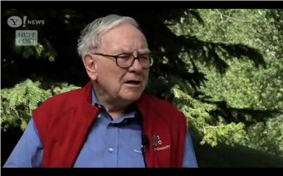 Buffett:  Double Dip Recession is Unlikely