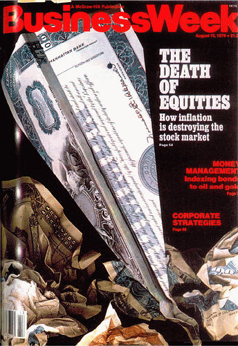 Individual Investors Abandon Stocks; The 'Death of Equities' Redux?
