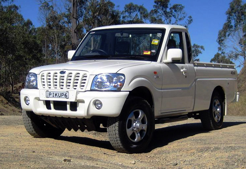 mahindra 39 s u s diesel truck hits roadblocks the rational walk. Black Bedroom Furniture Sets. Home Design Ideas