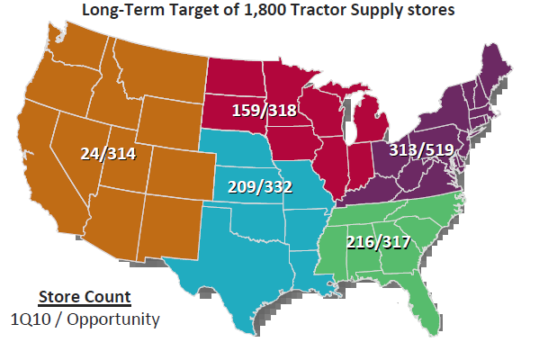What is Tractor Supply Company? Tractor Supply Company is the largest operator of rural lifestyle retail stores in America. Founded in as a mail order tractor parts business, Tractor Supply Company (also referred to as TSC) owns and operates over 1, stores in 49 states supplying basic maintenance products to home, land, pet and animal owners.