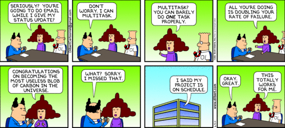Dilbert-Multitasking